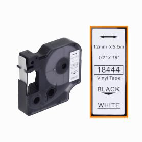 A18444 Cinta 12mm Negro en...