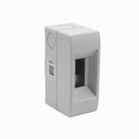 KALOP s/Tapa 18/36mm-Ancho Caja Plastica p/Automatico RielDin-Plastico