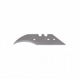 10 repuestos Curvo/Crescent Cuchillo Metalico Profesional Cartonero