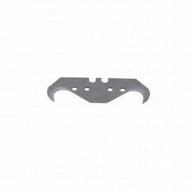 10 repuestos Gancho/Hook Cuchillo Metalico Profesional Cartonero