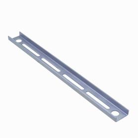 40cm 2-Perf Barra Metal Ranurada Soporte para CC-240 400x39x14mm