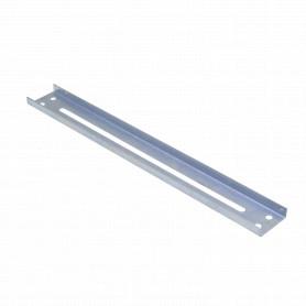 40cm 4-Perf Barra Metal Ranurada Soporte para CC-240 402x49x13mm