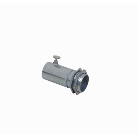 16mm Tubo y accs EMT LinkChip EMT16-ASA EMT16-ASA 16mm Acero Zincado Salida Caja c/Hilo para Conduit Rigido Metalico