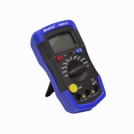 Tester Generico DM6013L DM6013L Tester ilum Condensadores Faradios Capacitometro req/Bat-9V 200pF-20mF