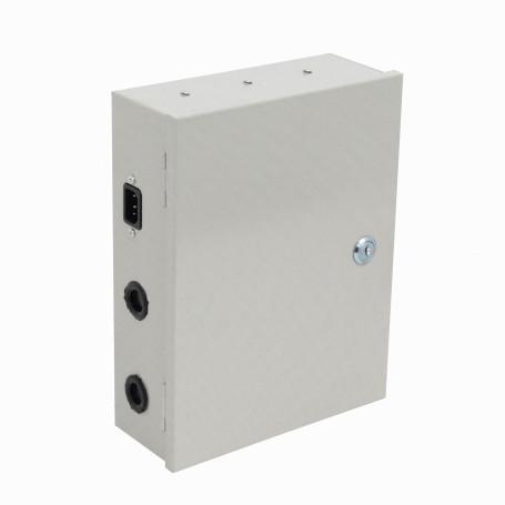 UPS sin bateria Generico F12-10H F12-10H CCTV 12V 10A 18-Canal Opc-Bateria CajaMetal Llave Pilot 100-240V C13