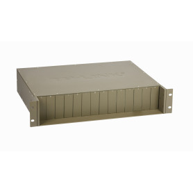 TL-MC1400 -TP-LINK CHASIS PARA MONTAJE EN RACK DE 14 BAHIAS CONVERTIDORES MCXXXX