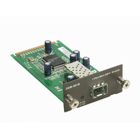 Chasis / Modulo / PCI Dlink DEM-301G DEM-301G -D-LINK MODULO PARA 1-MINIGBIC 1000MBPS