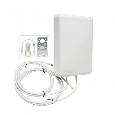 137-2700Mhz Multibanda Generico 4g-dir-16dbi 4g-dir-16dbi 2x2 Antena amplificadora LTE 4G exterior largo alcance 16dbi