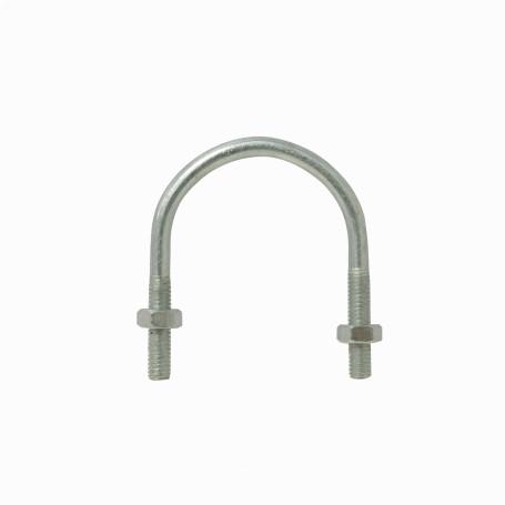 Mastil/accesorios Generico UDN-03 UDN-03 Abrazadera 25-40mm Diametro Poste Tubo c/2-tuercas-10mm req/pletina