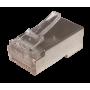 100 unidades FTP STP Conector RJ45 Metalizado Crimpeable