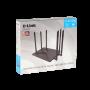 D-LINK 6-Ant-Fija-7dBi AC1200 5GHz-867mbps 2,4GHz-300mbps 4-1000 1-WAN