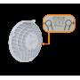 AF60-LR UBIQUITI solo-60GHz 57-71GHz 1-1000 1,8Gbps(12km) inc-48V