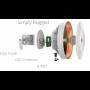 B5 Mimosa 5Ghz 25dBi PTP 1-1000 enlace de hasta 1 Gbps GPS Sync Backhaul
