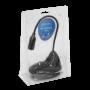 Audifonos / Parlante / Megafonia  MIC-35 MIC-35 Microfono 3,5mm-M c/Base Cable-130cm para Escritorio YW2001M