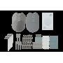 UBIQUITI 5un 4x4 1733mbps-5GHz 800-2,4GHz 4/3dBi req-PoE48V/17W 2-1000