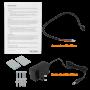 MIKROTIK 2-miniPCIe 3-Sim GPS-MMCX 2,4GHz 2x2-2dBi 1-1000 L4 RS232