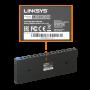 LINKSYS Desktop 16-1000 Gigabit Switch no-Admin no-Rack inc/12V/1A V2