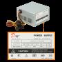 Fuente poder PC/Switch Generico FATX FATX DM Fuente Poder ATX 550W Sata requiere cable poder C13 opc-salida-C14