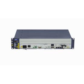 C320-2-AC -ZTE OLT GPON 2-GTGO/GTGH SMXA 2-SFP 4-RJ45 PRAM 220VAC -48VDC Rack-2U