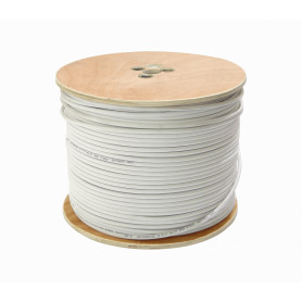 CCRG6W -ISAY RG6 Blanco 305mts Carrete RG-6 Cable Coaxial