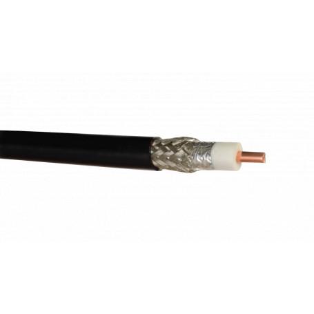 Cable coax metro/caja Generico CA195 CA195 -CA195 CABLE X METRO SERIE 195 COAXIAL NEGRO