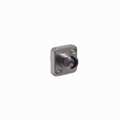 Adaptador copla miniplaca Fibra FAEF FAEF -FC-FC SX-Simplex Copla p/Fibra Adaptador 15x15mm