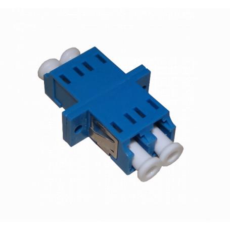 Adaptador copla miniplaca Fibra FASLD FASLD -LC-LC Azul SM DX-Duplex Copla p/Caja Adaptador p/Cabecera-CL/Caja