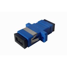 FASC -SC-SC Azul SM SX-Simplex Copla p/Fibra Adaptador p/Cabecera-CL/Caja