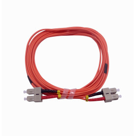 JFMCC5 -5mt SC-SC OM1 MultiModo MM Duplex Jumper Fibra 62.5/125um 3mm