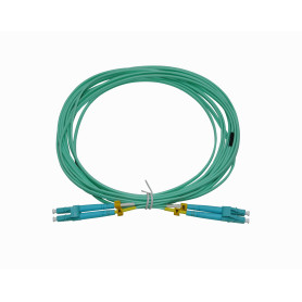 JF3LL5U -UBIQUITI 5mt LC-LC OM3 MultiModo MM Duplex Jumper Fibra 2mm 50/125um