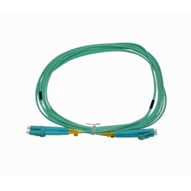 JF3LL3U -UBIQUITI 3mt LC-LC OM3 MultiModo MM Duplex Jumper Fibra 2mm 50/125um