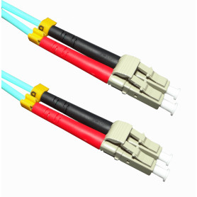JF3LL3 -3MT LC-LC OM3 MULTIMODO MM DUPLEX JUMPER FIBRA 50/125UM