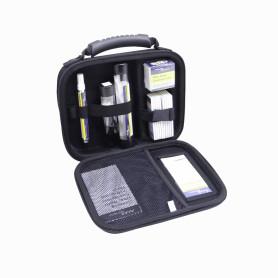 NFC-KIT-CASE -FLUKE Maleta Toallit 10-Tarjetas Limp Fibra Lapiz Bastoncillos1.25/2.5