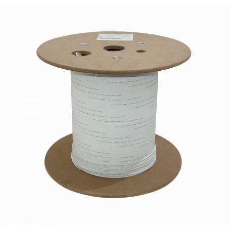 Monomodo Cable 1-10 Fibras Fibra CFSP1 CFSP1 -1-Fibra-G652D Blanca 500m DropCable Exter. FTTH SM LSZH 3x2mm