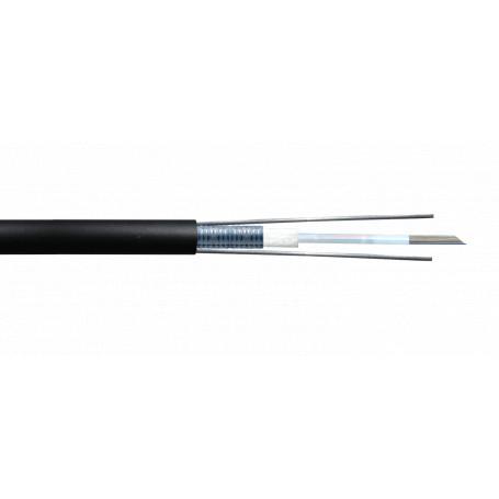 Monomodo Cable 12+Fibras Fibra CFSL24 CFSL24 -SM 24-Fibras-G652D GYXTW Ext 9/125um 8,8mm Monomodo x-mt LSZH