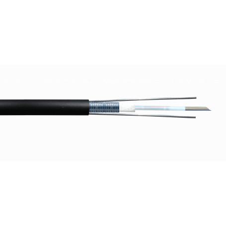 Monomodo Cable 12+Fibras Fibra CFSL12 CFSL12 -SM 12-Fibras-G652D GYXTW Ext 9/125um 7,7mm Monomodo x-mt LSZH