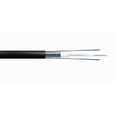 Multimodo Cable Exterior Fibra CF3L6 CF3L6 OM3 6-Fibras GYXTW Exterior 50/125 7,7mm Multimodo x-mt LSZH