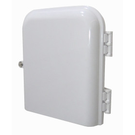 BOX-2-8C -8-Manguito-no-incluido 8-CL-Rect IP65 Caja Blanco-Invierno Fibra NAP