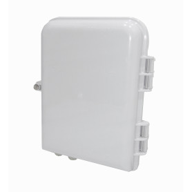 BOX-2-16C -16-Manguito 16-CL-Rectangular IP65 Caja Blanco-Invierno Fibra NAP