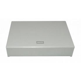 BOX-6C -6-Manguito de-Paso 4-CL-Rectang IP20 Caja Gris Terminacion Fibra NAP