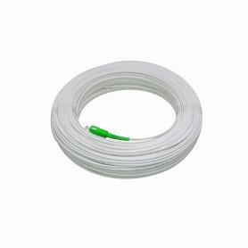 JFSA-100 -Blanco Drop 100mt SC/APC MonoModo SM SX Pigtail Cable Fibra