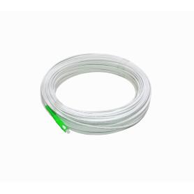 JFSA-50 -Blanco Drop 50mt SC/APC MonoModo SM SX Pigtail Cable Fibra