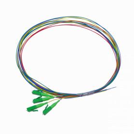 JFSB-4 -LC/APC SM 1,5mt 4-unidades Pigtail 150cm 0,9mm 1.5mt MonoModo 9/125um