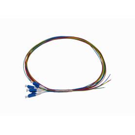 JFSL-4 -LC/UPC SM 1,5mt 4-unidades Pigtail 150cm 0,9mm 1.5mt MonoModo 9/125um
