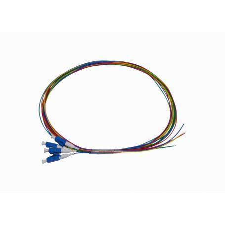 Pigtail Mono/Multimodo Fibra JFSL-4 JFSL-4 -LC/UPC SM 1,5mt 4-unidades Pigtail 150cm 0,9mm 1.5mt MonoModo 9/125um
