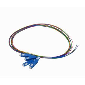 JFSC-4 -SC/UPC SM 1,5mt 4-unidades Pigtail 150cm 0,9mm 1.5mt MonoModo 9/125um