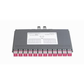 HDXBBTMLCOM424 -BRANDREX HI-DEX 24-LC OM4 2-MTP Cassette Pol-B Alpha/Beta req-HDXPNL