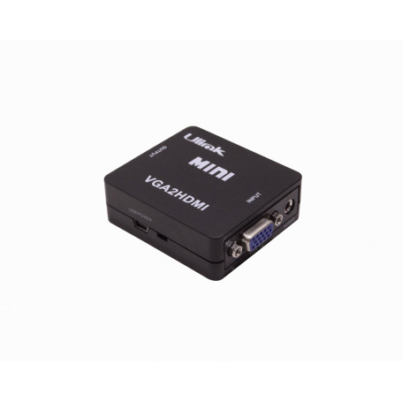 Conversor / Splitter / Switch Generico VGAHDMI VGAHDMI -VGA-H/in Audio/3,5mm-H/in HDMI-H/out Conversor Video Phone-1/8
