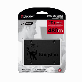 SSD480 -KINGSTON 480GB Sata3 2.5 7mm 500-450mb/s A400 SSD Disco Duro Solido