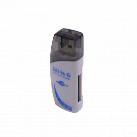 LECTOR-SD-USB -Lector USB2.0 SD miniSD MMC MS M2 MS-PRO